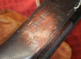 M1 Garand Rifle Stock Springfield Armory (SA) EMcF Early Clip Latch Light Visible Cartouches - 24 of 25