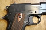 Colt Commander Series 1911 80 9mm Blue Semi Auto Handgun with NO box or paperwork - 3 of 25