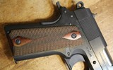 Colt Commander Series 1911 80 9mm Blue Semi Auto Handgun with NO box or paperwork - 4 of 25