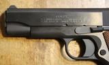 Colt Commander Series 1911 80 9mm Blue Semi Auto Handgun with NO box or paperwork - 6 of 25