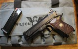 Wilson Combat EDC X9 9mm w 6 mags, extra Grips and Sights