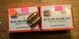 Guncrafter Industries .50GI 300gr Jacketed Flat Point (20 Count Box) Times 2 or 40 Rounds - 2 of 4