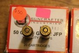 Guncrafter Industries .50GI 300gr Jacketed Flat Point (20 Count Box) Times 2 or 40 Rounds - 4 of 4