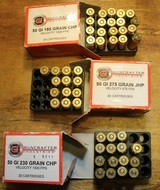 Guncrafter Industries .50GI 48 Rounds = 20 185 CHP 13 275 JHP 15 230 CHP Mixed - 1 of 15