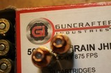Guncrafter Industries .50GI 48 Rounds = 20 185 CHP 13 275 JHP 15 230 CHP Mixed - 7 of 15