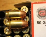 Guncrafter Industries .50GI 48 Rounds = 20 185 CHP 13 275 JHP 15 230 CHP Mixed - 6 of 15