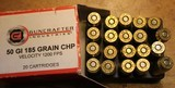 Guncrafter Industries .50GI 48 Rounds = 20 185 CHP 13 275 JHP 15 230 CHP Mixed - 11 of 15