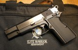 Elite Warrior Armament P35 Hi Power Stainless Steel 9mm by Chuck Warner