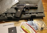 Wilson Combat EDC X9 9mm w 2 mags, Gold Post Sight and Hi Viz Sights - 1 of 25