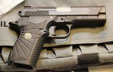 Wilson Combat EDC X9 9mm w 2 mags, Gold Post Sight and Hi Viz Sights - 2 of 25