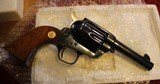 """Colt Single Action Storekeepers Model, Cal. 45 LC 3rd Gen 4"""" Royal Blue in Box - 8 of 25"""
