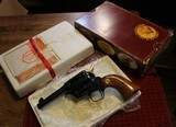 """Colt Single Action Storekeepers Model, Cal. 45 LC 3rd Gen 4"""" Royal Blue in Box"""