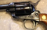 """Colt Single Action Storekeepers Model, Cal. 45 LC 3rd Gen 4"""" Royal Blue in Box - 14 of 25"""