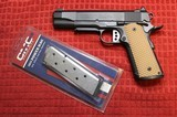 Colt 1911 Series 80 45ACP Customized by Chuck Rogers of Roger's Precision.