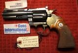 "Colt Diamondback 4"" Blue Steel 38 Special 6 Shot Revolver 1970 NO Box - 1 of 25"