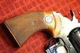 "Colt Diamondback 4"" Blue Steel 38 Special 6 Shot Revolver 1970 NO Box - 7 of 25"
