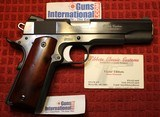 Tibbets Classic Custom 1911 Colt 45ACP Full Size Blue 2003 Build