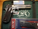 Mark Krebs Custom Colt 1911 45 ACP with bag.
