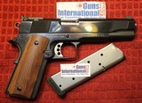 Kim Ahrends Custom 1911 45 ACP Blue Full Size