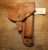 Czech military Cz52 Leather Holster, Magazine and Cleaning Rod