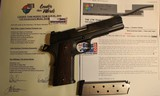Custom Colt 1911 45 ACP LTW #3 with original documentation by Stan Chen, John Harrison and Don Williams