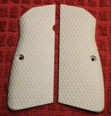 VZ we think Synthetic Browning Hi Power BHP Grips for 9mm or 40 S&W Plastic or Similar Firearm.
