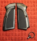 Original Factory Browning Hi Power BHP Grips for 9mm or 40 S&W Plastic or Similar Firearm