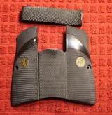 Original Factory Browning Hi Power BHP Logo Grips for 9mm or 40 S&W Pachmayr or Similar Firearm