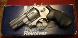Smith and Wesson 625-3 Model of 1989 N Frame Stainless 3 inch 45 acp Revolver