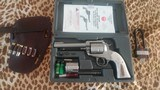 RUGER BISLEY NEW MODEL BLACKHAWK 45 COLT/45 ACP STAINLESS STEEL CONVERTIBLE