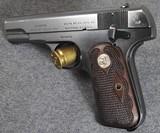 COLT 1903/1908 MODEL M Fleur-de-Lis Walnut Grips - 7 of 8