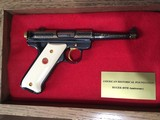 Ruger 40th Anniversary Mark II W/presentation case