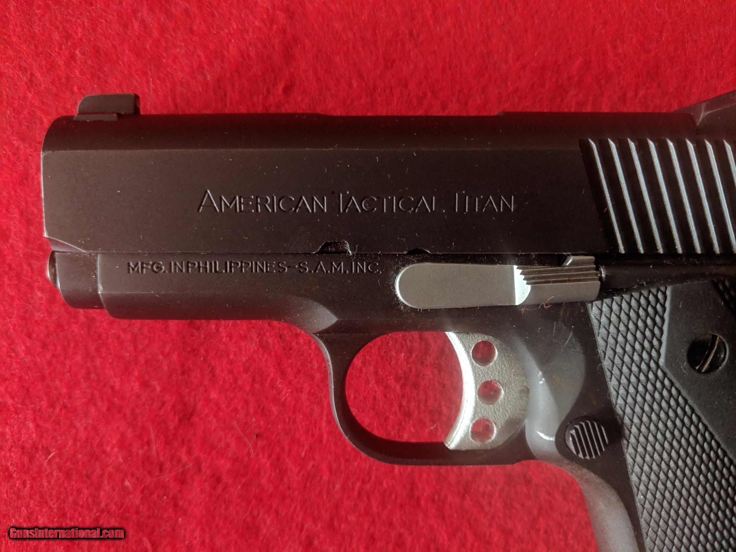 American Tactical Titan 45 Acp
