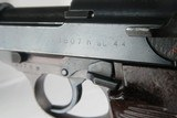 WW2 Scarce Walther ac 44 P.38 Eagle/140 Frame WWII - 7 of 10