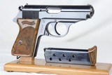 Rare WW2 Nazi SS Walther PPK Muzzle Number Matching Mag WWII