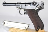Original Early Military DWM Military Luger 1911 All Matching