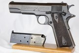 "Excellent Original US Army Colt 1911 - 1918 ""Black Army"""