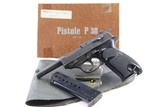 Very Rare Original Norwegian Contract Walther P.38 with Box, Holster, & Lanyard