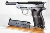 Excellent WWII Original Nazi Walther ac 41 P.38 - Matching Magazine WW2