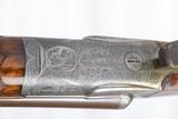 Original Pre-WWI Diamond Grade Engraved Charles Daly (Lindner) Side-by-Side Shotgun 12 GA - 24 of 25