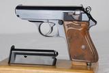 Gorgeous Original WWII Nazi-Era Walther PPK .22 Caliber WW2