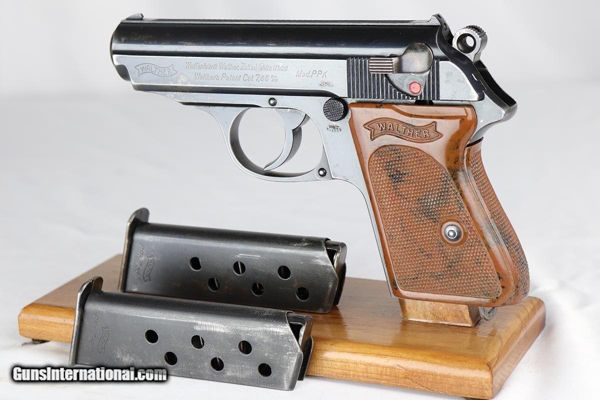Scarce Original WWII Nazi Luftwaffe Walther PPK Rig