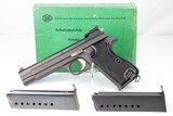 Original Early SIG Swiss P210-6 Target Model ANIB