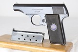 Excellent Original Walther Model 8, 2nd Variation, All Matching, Rare Serial Number