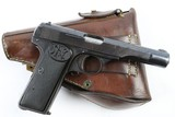 FN 1922 Dutch Military Rig, Matching Magazine, Pre-WW2