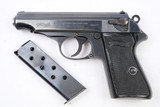 Original Very Early WWII Nazi Walther PP, 1933, Rare Features, WW2