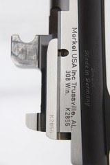 Gorgeous ANIB Merkel Model K1 Jagd Stalking Rifle Stutzen Carbine 308 Winchester - 25 of 25