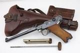 Exceptional WW2 DWM Artillery Luger Rig - 1918 - 9mm - 1 of 25