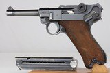 1938 Nazi Mauser P.08 Luger - 9mm