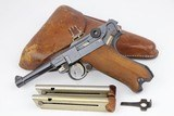 1918 DWM P.08 Luger Rig - Black Watch Attributed - 1 of 21